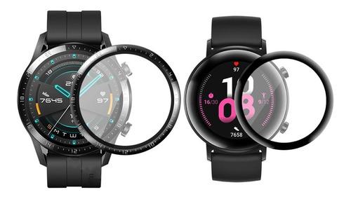 Vidrio Templado Huawei Watch Gt2 Protector Pantalla 3d Gt 2