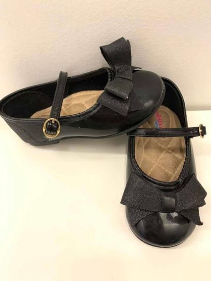 Zapato Nena Molekinha Negros Guillermina