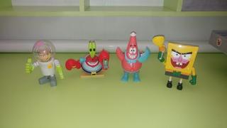 Figuras Bob Esponja Y Amigos. Animadas Y Con Voz.