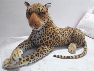 Peluche Tigre Bengala Dorado 90cm Impecable
