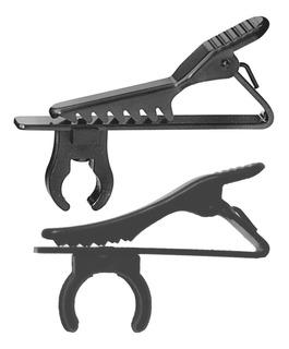 2x Clip Atado Abrazadera De 6mm 8.5mm Para Micrófonos De