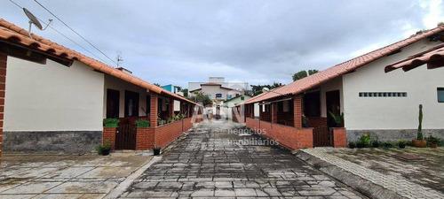 Imagem 1 de 11 de Casa Linear Em Condomínio  No Centro De Rio Das Ostras/rj - Ca0799