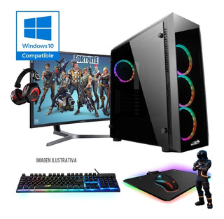 Computadora Pc, I5 7400, Gtx 1050 Ti, 8gb, Hdd 1tb