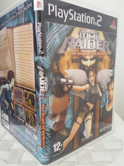 Tomb Raider The Angel Of Darkness Para Playstation 2 - Patch