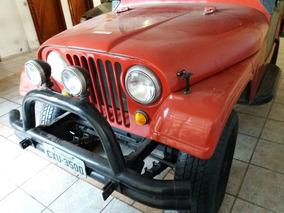 Jeep Willys Ford 4x4 Conversivel 76 Trilha