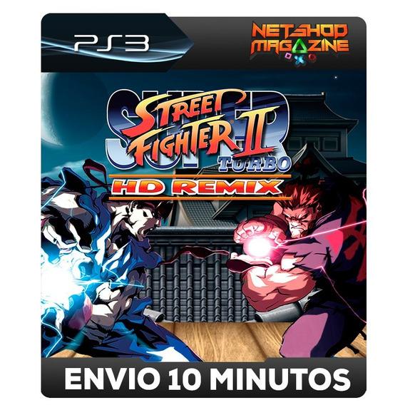 Super Street Fighter® Ii Turbo Hd Remix - Psn Ps3 - Envio Ja