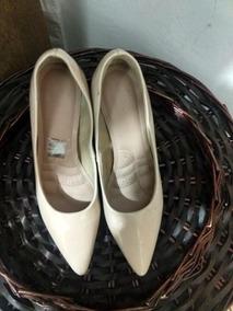 Sapato Scarpan Nude. Nas Especificações Não Tem A Cor. Enude