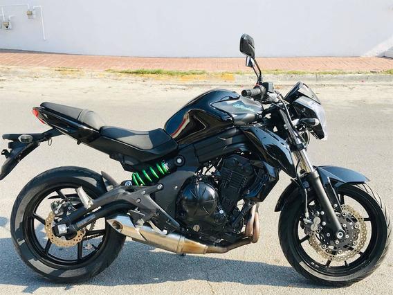 Kawasaki Ninja 650r Naket Impecable 2mil Millas Importada