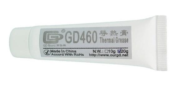 Pasta Termica Gd460 Silver 20 Gr Cpu Gpu Chip Led Geobyte
