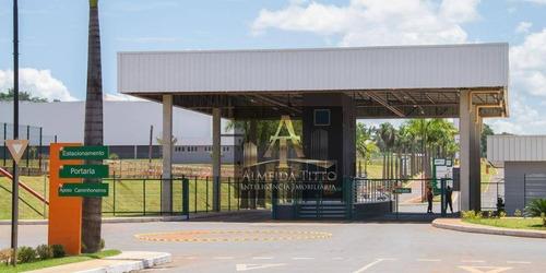 Em Obra - Excelente Galpão Para Locação Com 3.377,38 M² Em Goiânia/go - Confira! - Ga0529