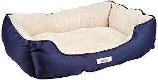 Aspca Microtech Rayado Cama Cuddler 28 Por 20 Por 8 Pulgadas