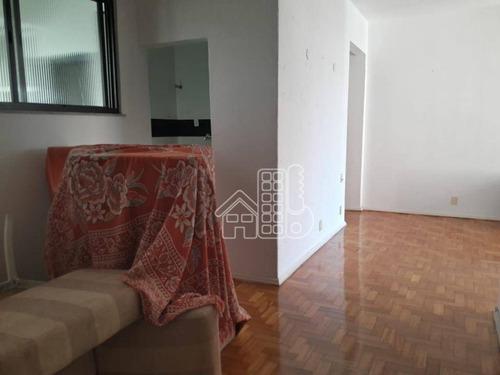 Apartamento Com 3 Dormitórios À Venda, 140 M² Por R$ 1.199.900,00 - Icaraí - Niterói/rj - Ap2604