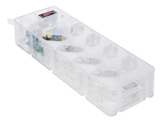 Clamper Multienergia 8 Tomadas Proteção Surto Dps