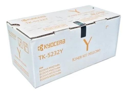 Imagen 1 de 1 de Toner Tk-5232y Kyocera Original Para P5021cdn/cdw