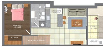 Espectacular Reciclaje De Casa De 1 Dormitorio A Estrenar