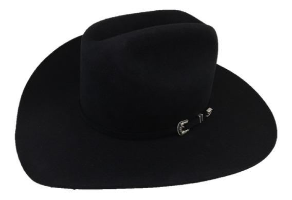 Sombrero Texana 6 X Marca Stetson Negro Lana Pelo Conejo
