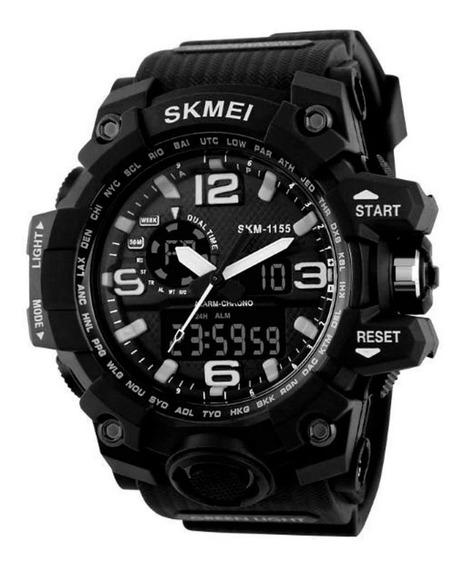 Relógio Masculino G-shock Skmei 1155 - Preto