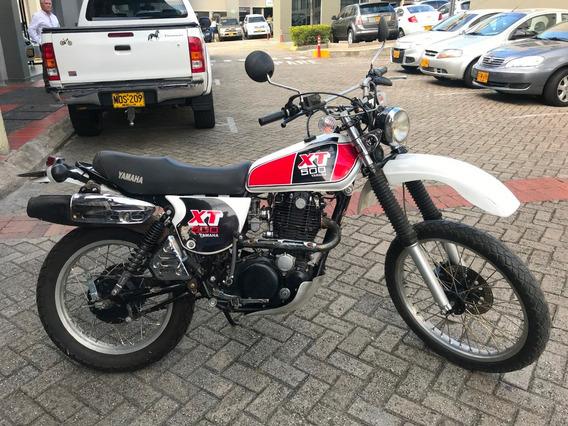 Yamaha Xt 500 Solo Dos Dueños Impuestos Al Dia Funciona Bien