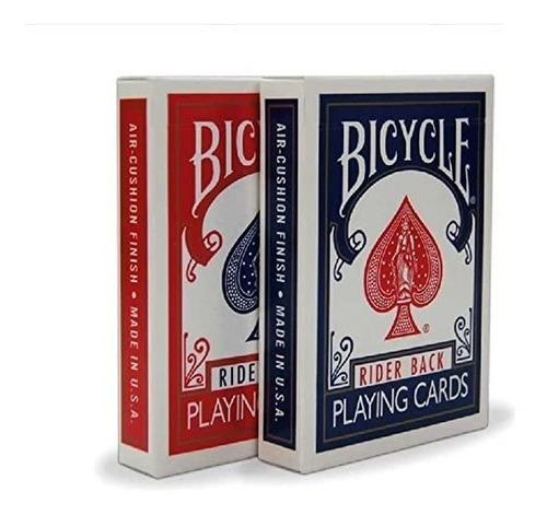 Imagen 1 de 1 de 2 Barajas Cartas Bicycle Rider Back Cardistry Magia Poker