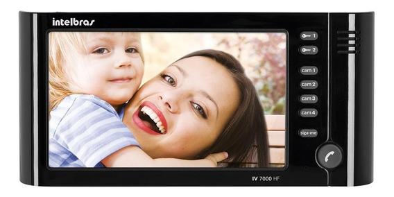 Módulo Interno Videoporteiro Intelbras Iv 7000 Hf 7 Preto