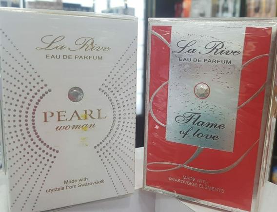 Kit Perfume La Rive Pearl Woman Edp + La Rive Flame Of Love