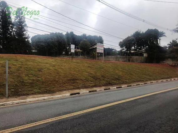 Terreno Comercial À Venda, 505 M² - Avenida São Camilo, Granja Viana. - Te0344