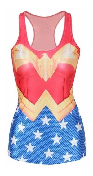 Playeras, Camiseta 3d Para Mujer,batmam, Superman, Spiderman