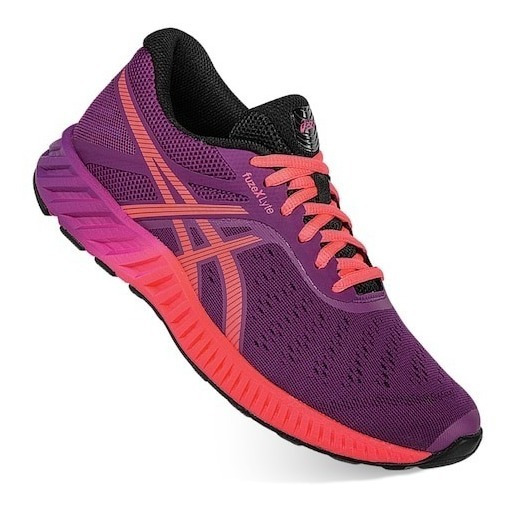 Tenis Asics Fuzex Lyte Mujer Correr Gym Crossfit