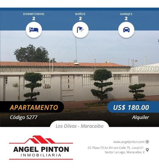 Apartamento Alquiler Los Olivos Maracaibo Api 5277 Estefany