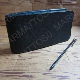 Capa De Couro Original Samsung Omnia Sgh-i900l + Stylus