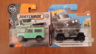Hotwheels Matchobox Camionetas Y Jeep 4, Nuevos!