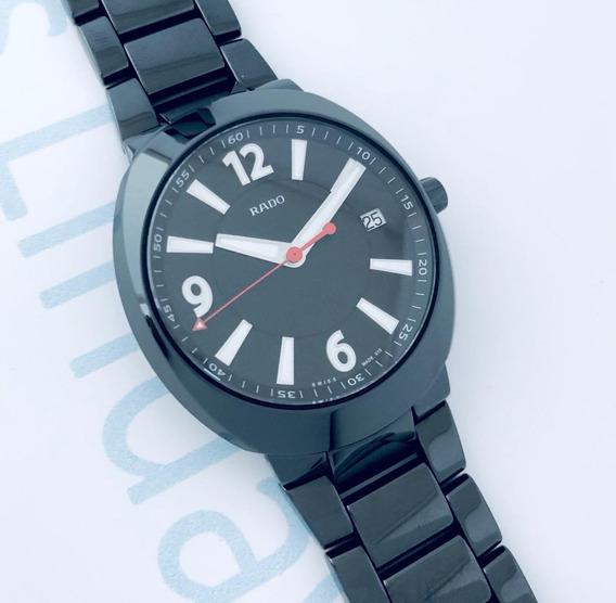 Reloj Rado Diastar Ceramico Negro Jumbo