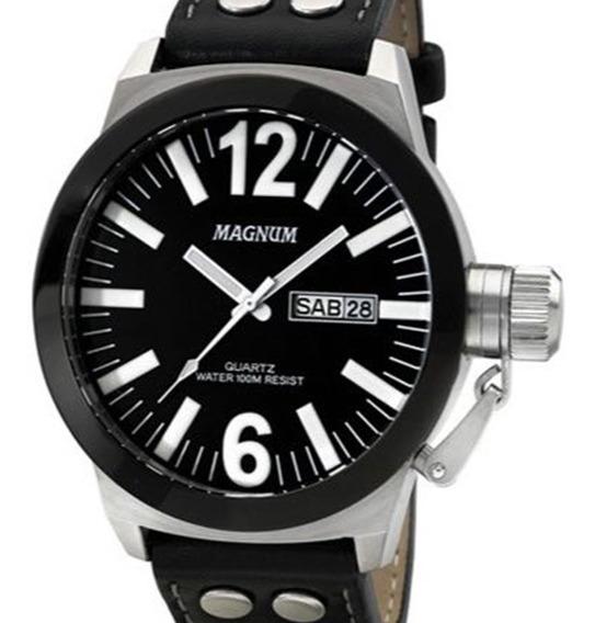 Relógio Magnum Masculino Military Ma31533c Original + Nota