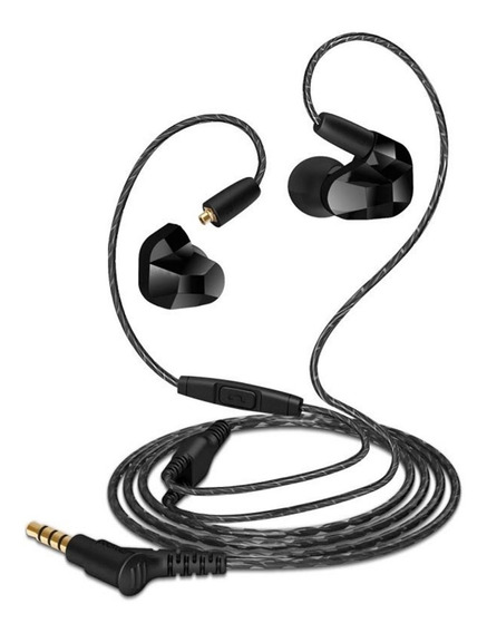 Fone In Ear Moxpad X9 - Monitor Com Dois Driver