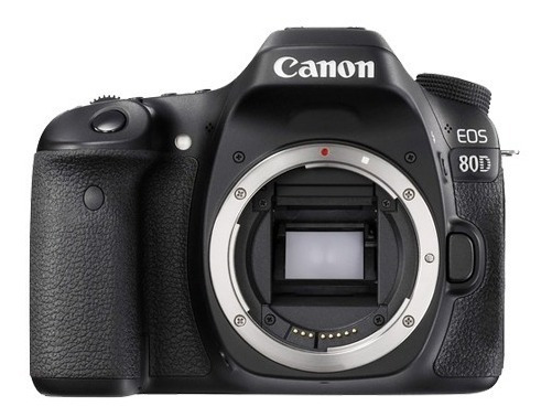 Corpo Canon Eos 80d 24.2 Mp C/ Nfe I 2 Anos De Garantia