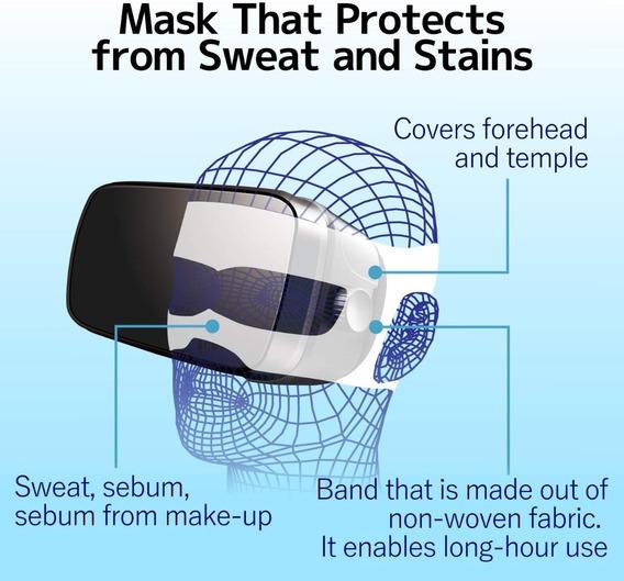 Paquete 20x Mascara Protector Sudor Vr Oculus Htc Vive Samsu