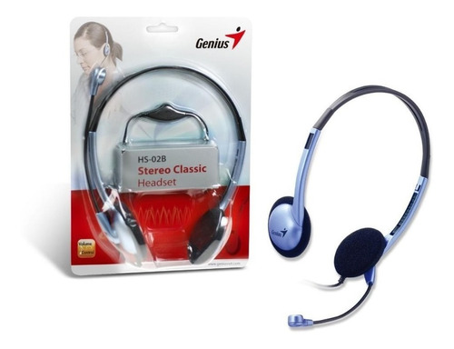 Audifonos Diadema Genius Hs-02b