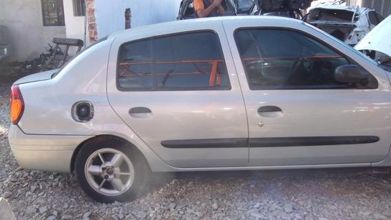 Sucata Renault Clio Rt 1.0 16v 2002 Motor Cambio Portas