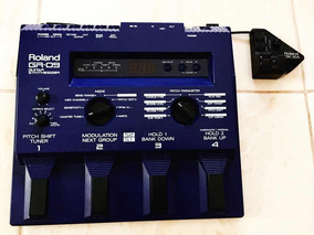 Pedaleira Roland Gr09 Com Gk2 Para Violão E Guitarra