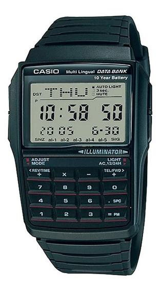 Reloj Casio Dbc32-1a Data Bank Multilingüe Original Ghiberti