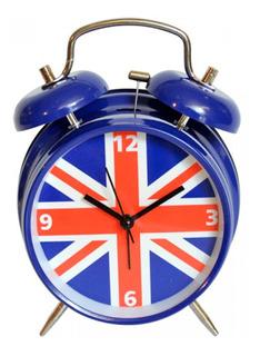 Reloj Despertador Retro England Inglaterra