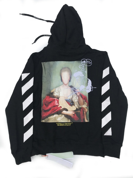 Hoodie Off White Vlone Hombre M Supreme, Yeezy