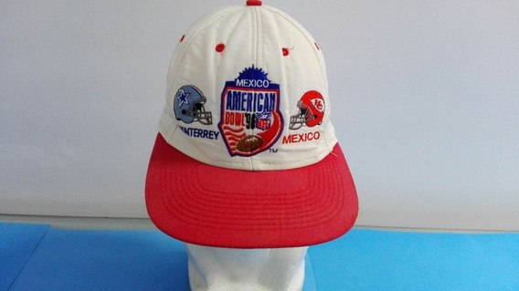 Vintage Gorra Dallas Vs Kansas City 1996 Americanbowl Mexico