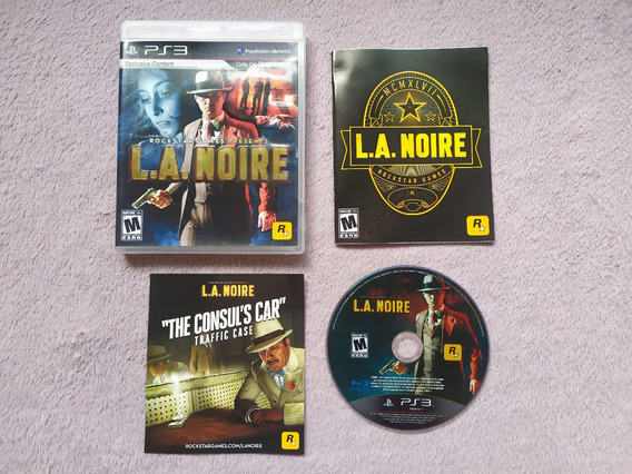 Playstation 3 - L A Noire, Original, Americano, Completo