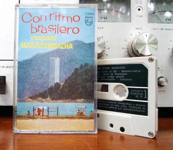 Conjunto Maracangalha - Con Ritmo Brasilero Cassette@