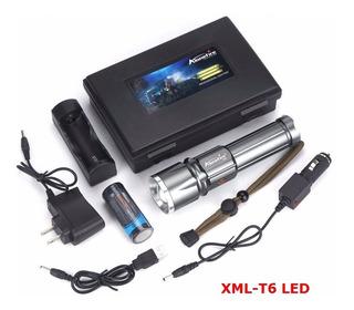 Lanterna X900 Tática Alonefire Xml T6 Potente Led Original
