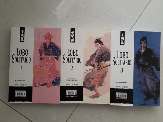 Lobo Solitario - 01 A 03