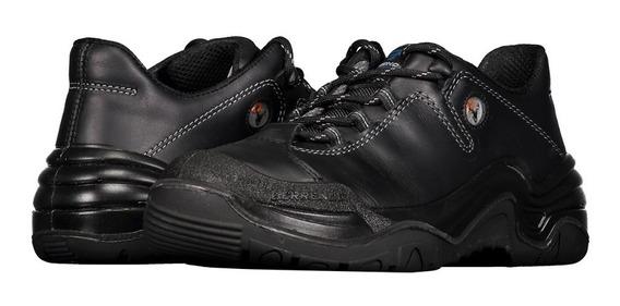 Zapato De Seguridad Dieléctrico Berrendo 3001 Negro Unisex