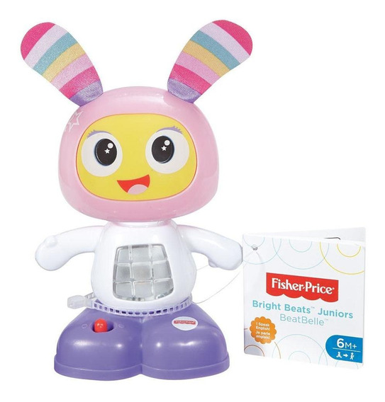 Boneco Interativo Fisher-price Beatbelle Junior - Mattel