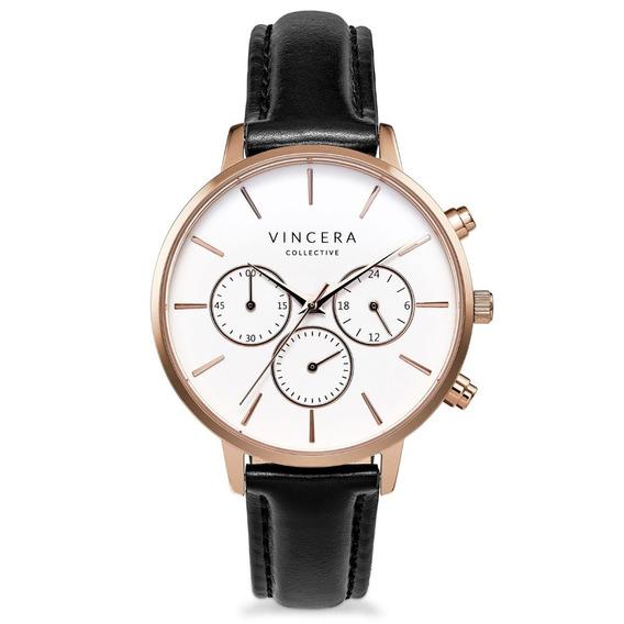 Reloj Vincero Luxury Kleio Oro Rosado Mujer Rg-bla-l05